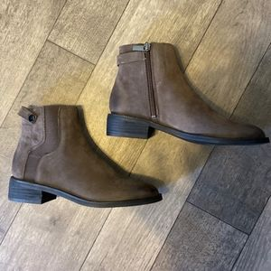 Franco Sarto Booties short gray-brown Ankle Boots